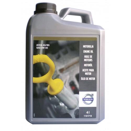 Моторное масло VOLVO ENGINE OIL 0W30, 4 литра,