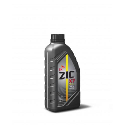 Моторное масло ZIC X7 FE 0W20, 1 литр,