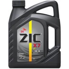 ZIC X7 LS 5W30, 4 литра