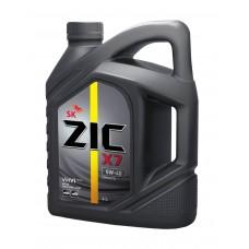 ZIC X7 5W40, 4 литра