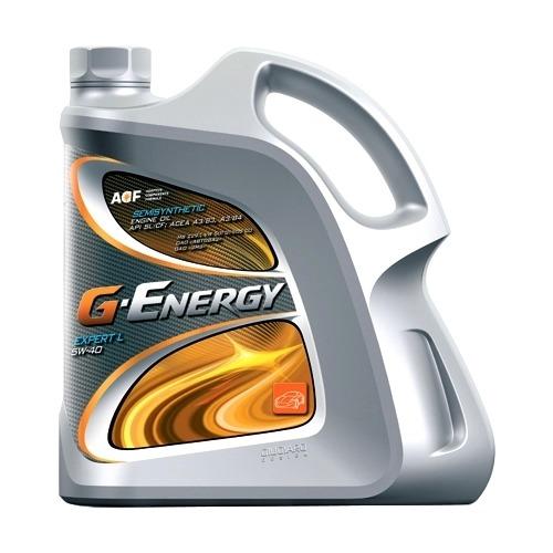 Моторное масло G-ENERGY Expert L 5W40 4 литра, полусинтетическое