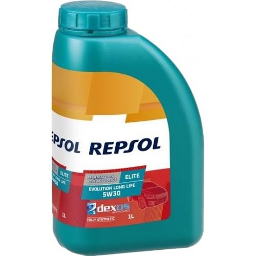 Моторное масло REPSOL ELITE EVOLUTION LONG LIFE 5W30, 1 литр,