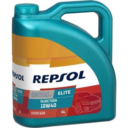 Моторное масло REPSOL ELITE INJECTION 10W40, 4 литра,