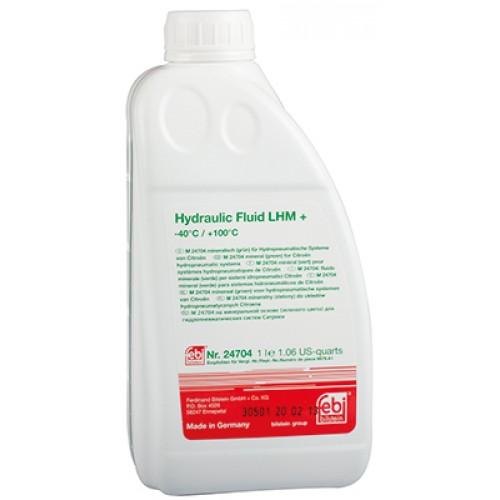 FEBI Жидкость гидросистем LHM-plus, минеральная, зеленая, 1л