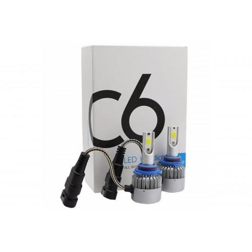 Светодиодные лампы в фары HB3 C6