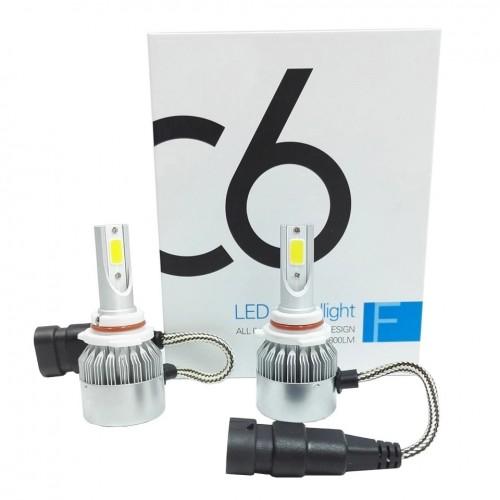 Светодиодные лампы в фары HB4 C6