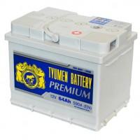 Аккумулятор Тюмень 6ст-64L Premium, 64 а/ч 590 A, 242x175x190, Обратная